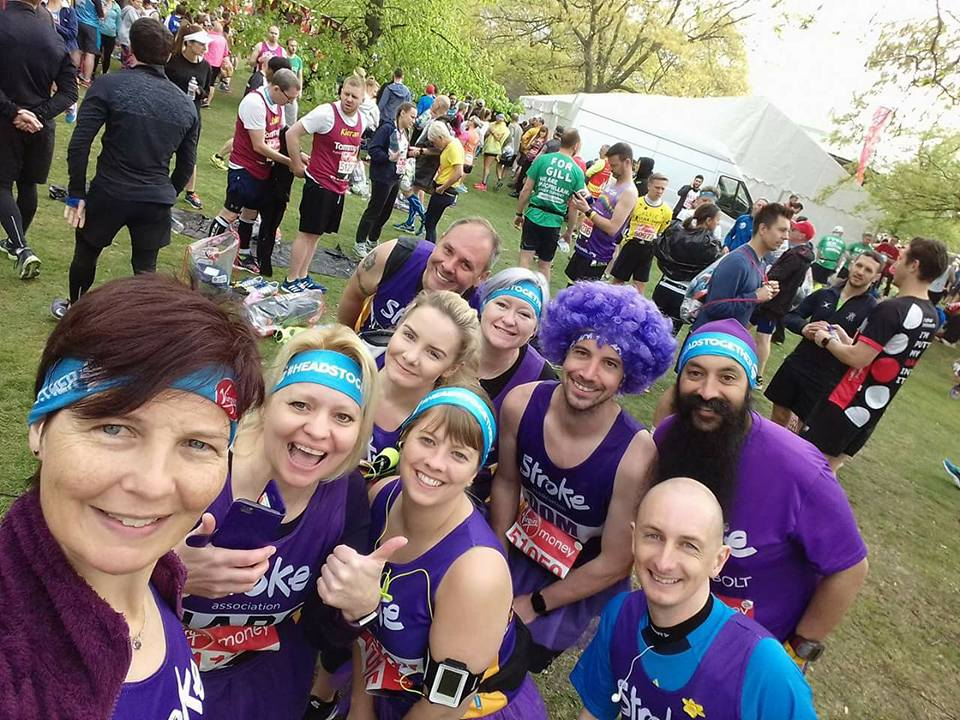 Virgin London Marathon 2017 – Stroke Association