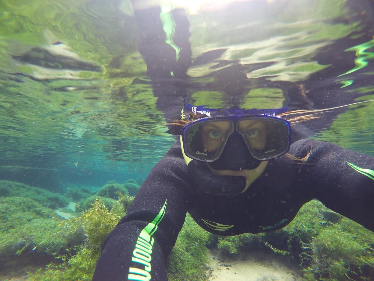 Gruta do Lago Azul and Rio da PrataSnorkelling